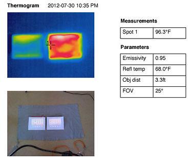iPad comparison Thermogram 3