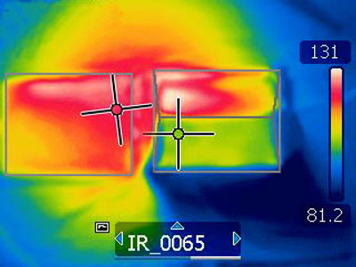 Thermal tests show the Hoodi helps protect the iPad from overheating
