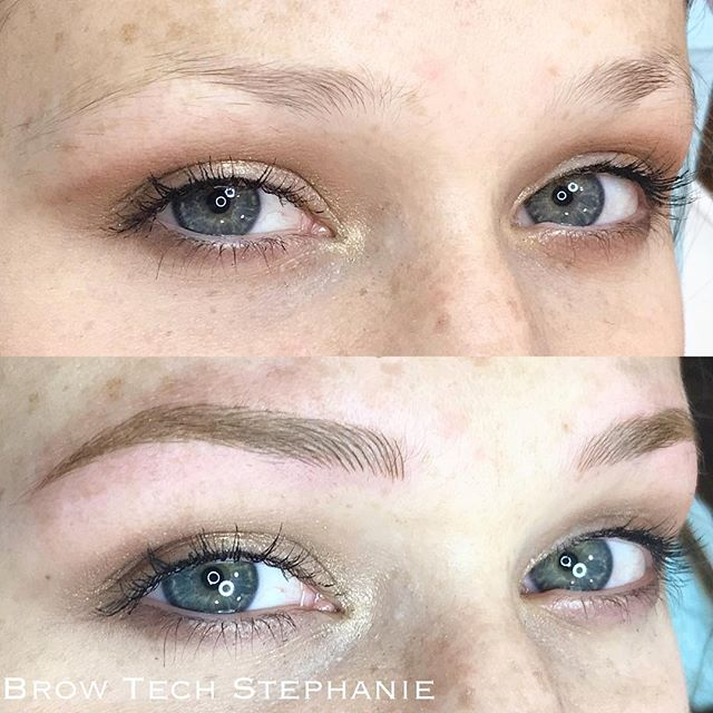 Check out these blonde beauties by Brow Tech Stephanie!