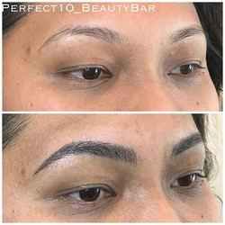 Hello Saturday and hello Perfect 10 Eyebrows 😍