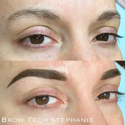 Today's beautiful brows by _stephanie