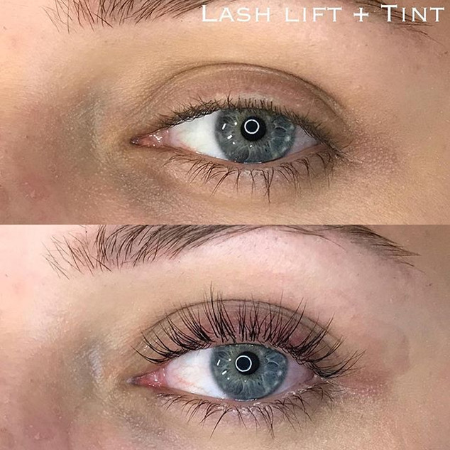 Okay but how gorgeous is this lash lift