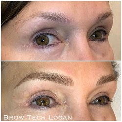 I loved creating these gorgeous brows