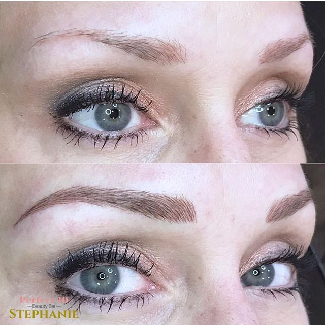 A stunning set of brows by the talented