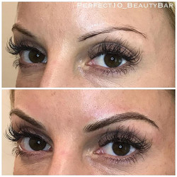 The smallest changes make the biggest differences! Check out these BEAUTIFUL brows for this sweet sw