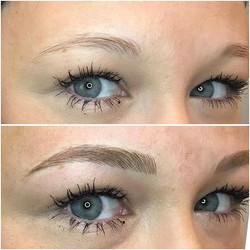 Hello new brows 😍😍😍_•_•_•_#permanente