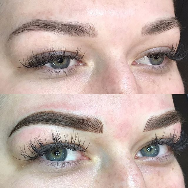 A flawless pair of Combination Brow crea