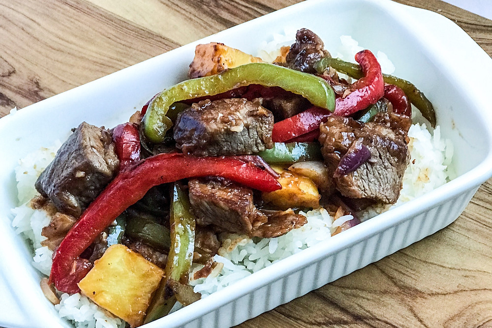 sweet & sour outback lamb