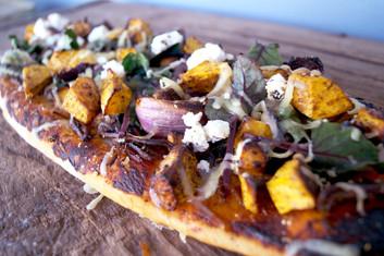Outback Lamb & Pumpkin Pizza
