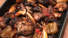 Braised Outback Lamb Shanks