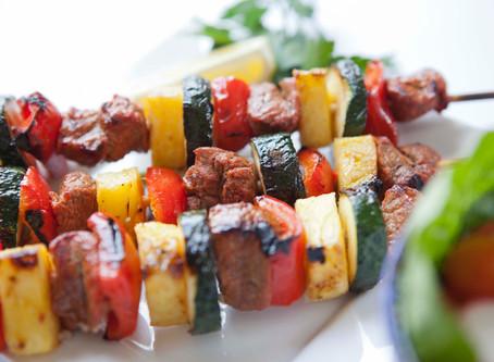 Outback Lamb Kebabs