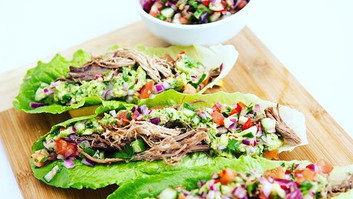 Pulled Outback Lamb Tacos