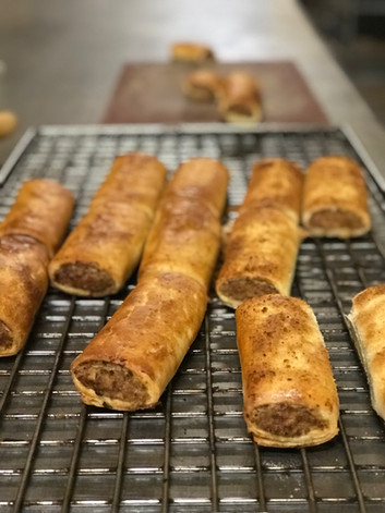 Outback Lamb sausage rolls