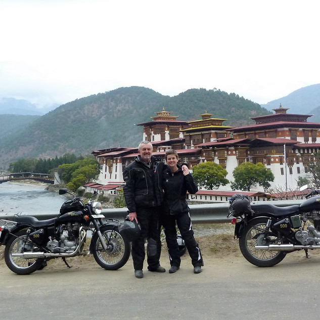 Bhutan on Enfields