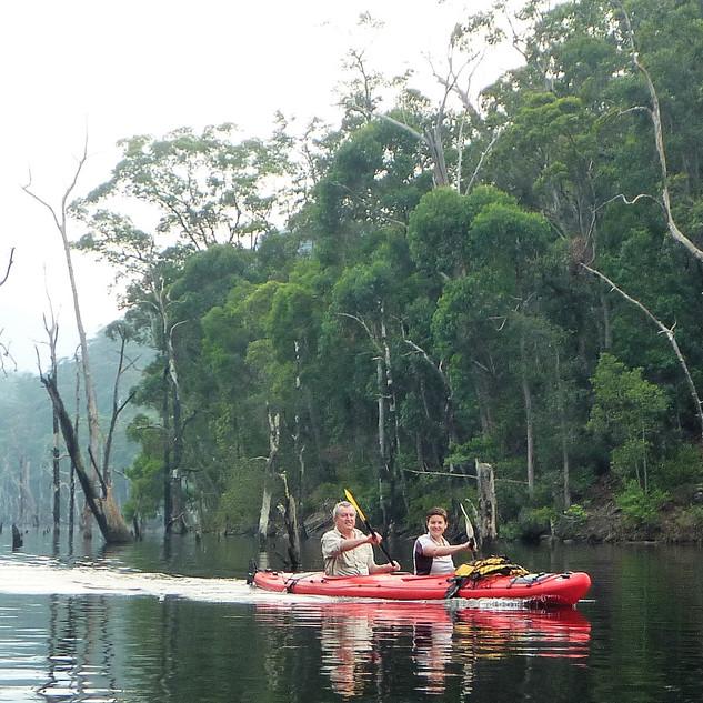 Kayaking in Kangaroo Valley