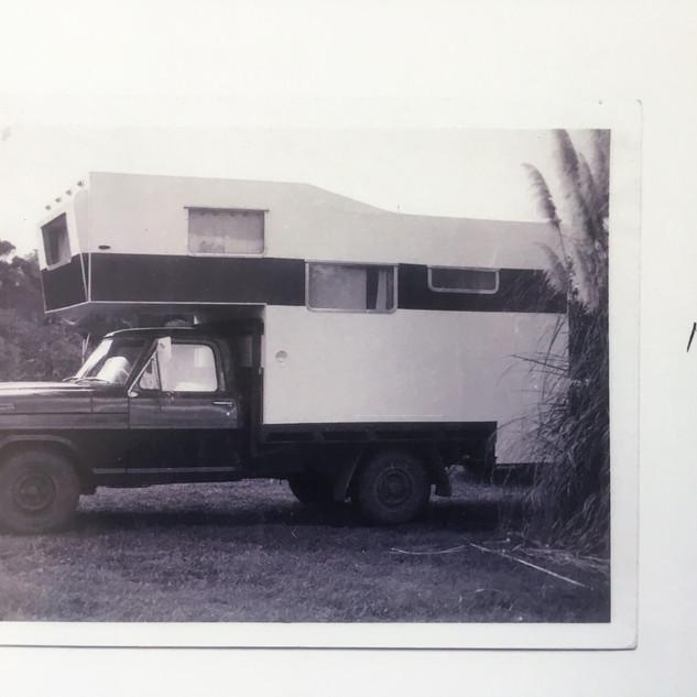 Finished camper 1971