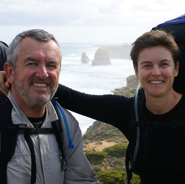 End of the 8 day Great Ocean Walk