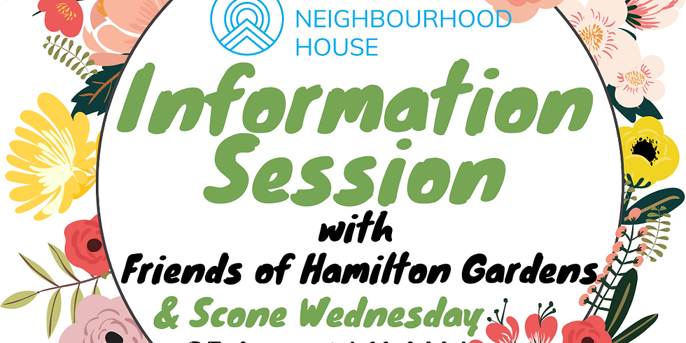 Information Session & Scone Wednesday