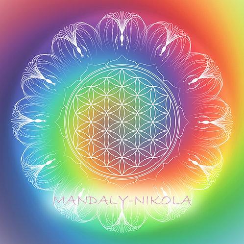 Léčivá síla spojení Květu života a semene Eywy I
