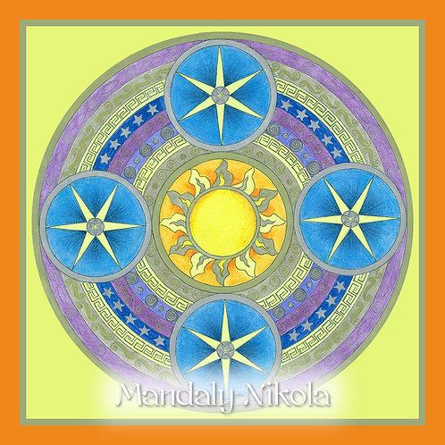Aztécká mandala