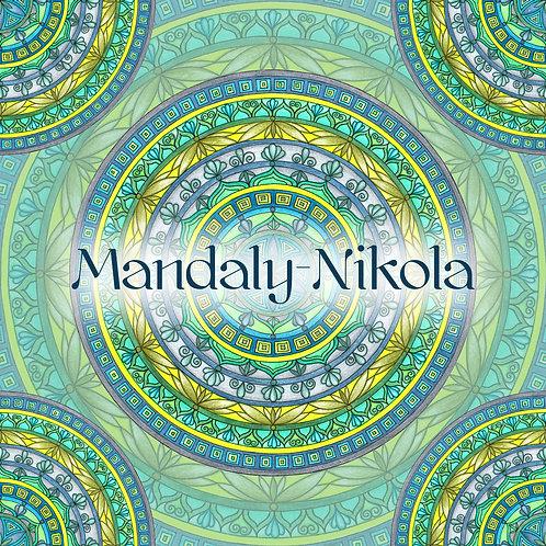 Mandala portálu 02. 02. 2020 - 02 Květ z Indie