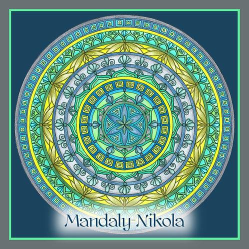Mandala portálu 02. 02. 2020 - 01 Květ z Indie