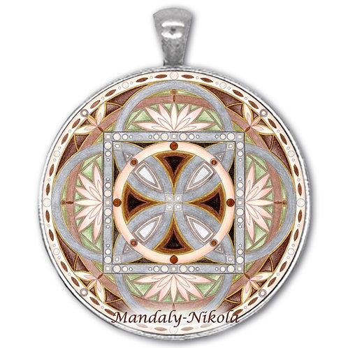 Mandala 2020 - Listopad - přívěsek starostříbro