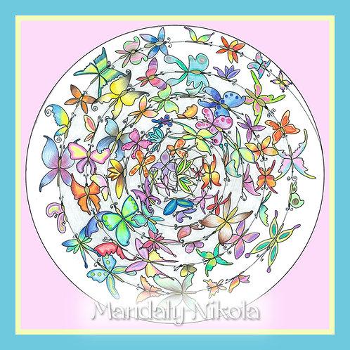 Tanec motýlů II