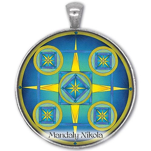 Kompas - přívěsek starostříbro
