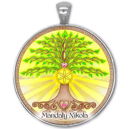 Strom života - přívěsek starostříbro