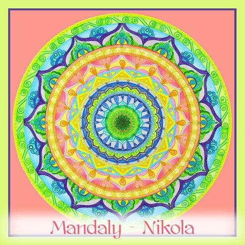Mandala 2019 - Červenec