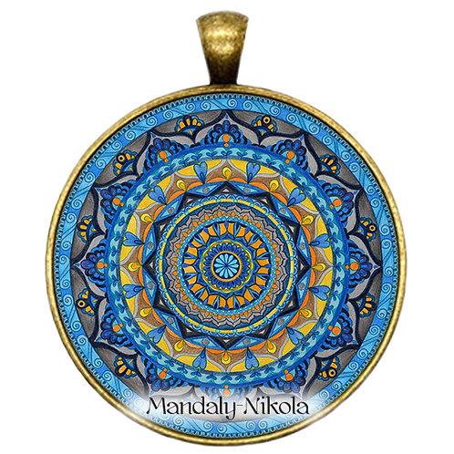 Mandala 2019 - Září - přívěsek bronz