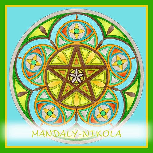 Mandala 2021 - Duben