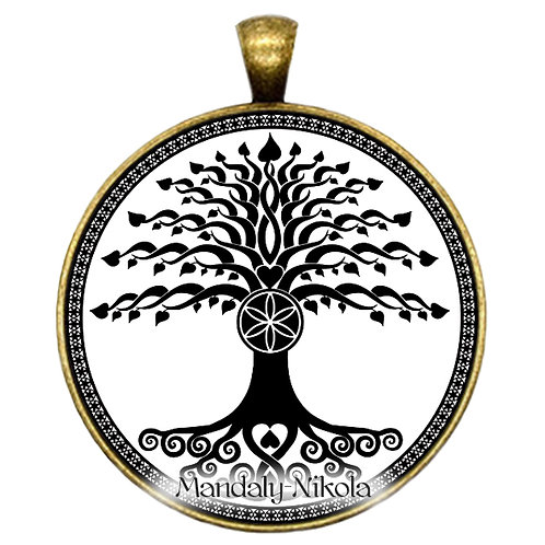Strom života - přívěsek bronz