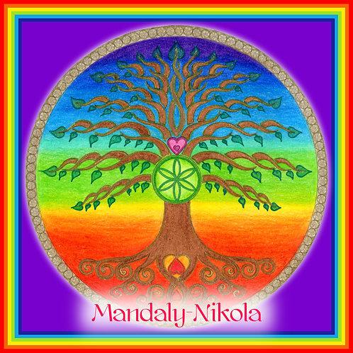 Letní slunovrat 2019 - Čakrový strom života