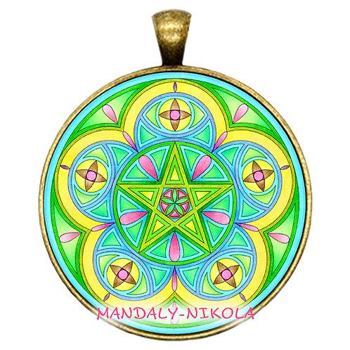 Mandala 2021 - Květen - přívěsek bronz