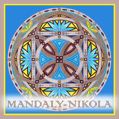 Mandala 2020 - Červenec