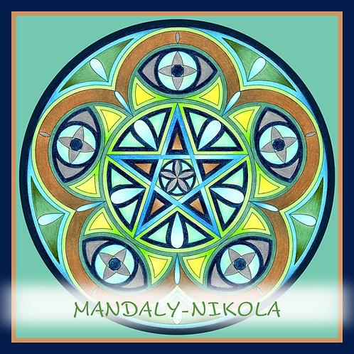 Mandala 2021 - Březen
