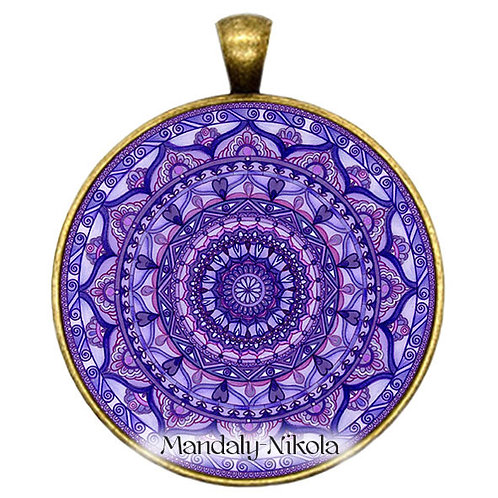 Mandala 2019 - Únor - přívěsek bronz