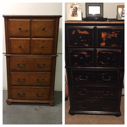 Repaired and Refinished Dresser