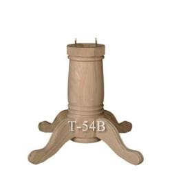 P3 Round Log Pedestal