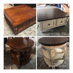 Custom Refinished Coffee & End Tables