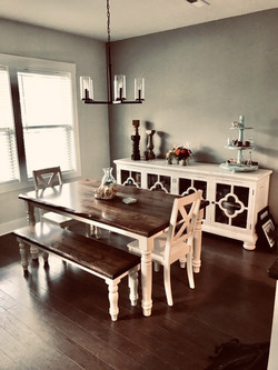 Classic Solid Wood Dining Room