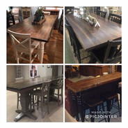 Counter Height Rectangle Tables