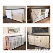Custom Buffet & Wine Cabinets