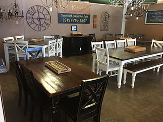 Refinished tables