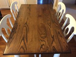 Ash Wood Table w/ Napoleon Chairs