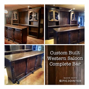Custom Western Saloon & Bar