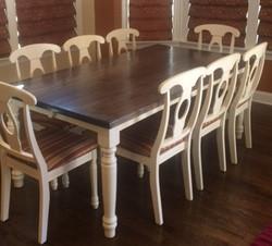 Straight Edge Table