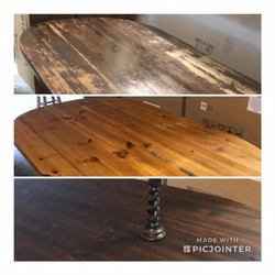 Before & After Refinishing